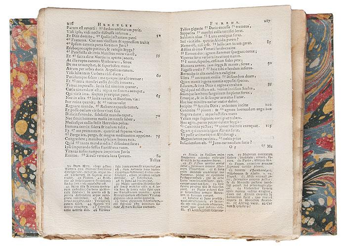 Сенека. Трагедии. Издание 1678 года