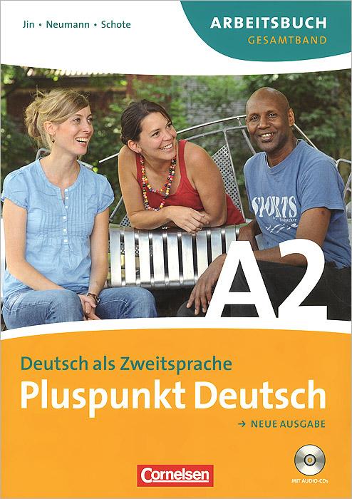 Pluspunkt Deutsch A2: Neu Ausgabe: Deutsch als Zweitsprache (комплект из 2 книг, приложения и 2 CD)