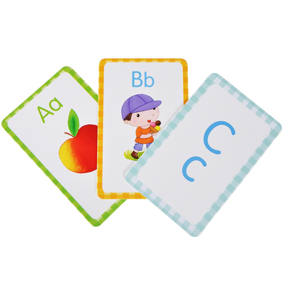 Usborne Very First ABC Flashcards (набор из 30 карточек)