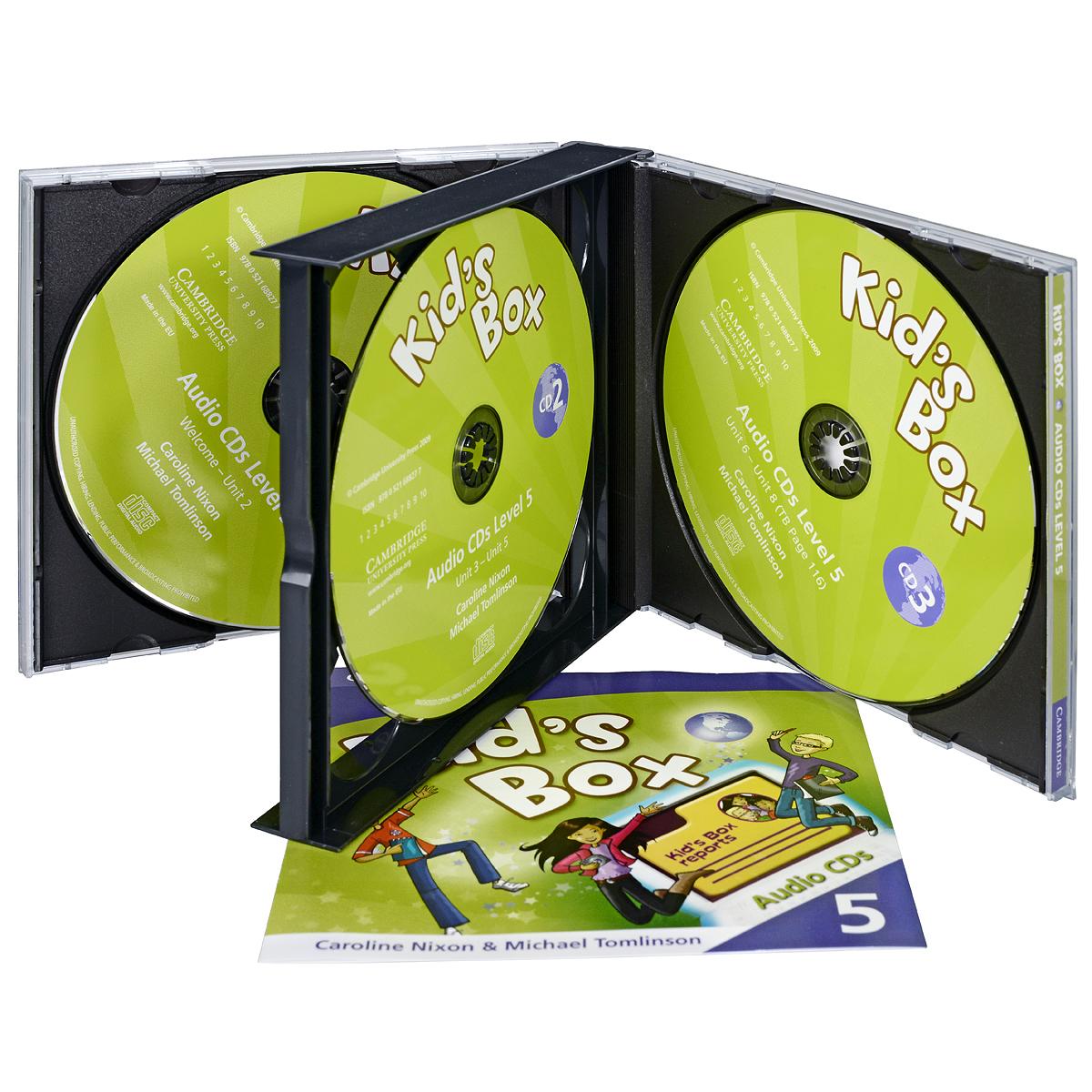 Kid's Box 5 (аудиокурс на 3 CD)