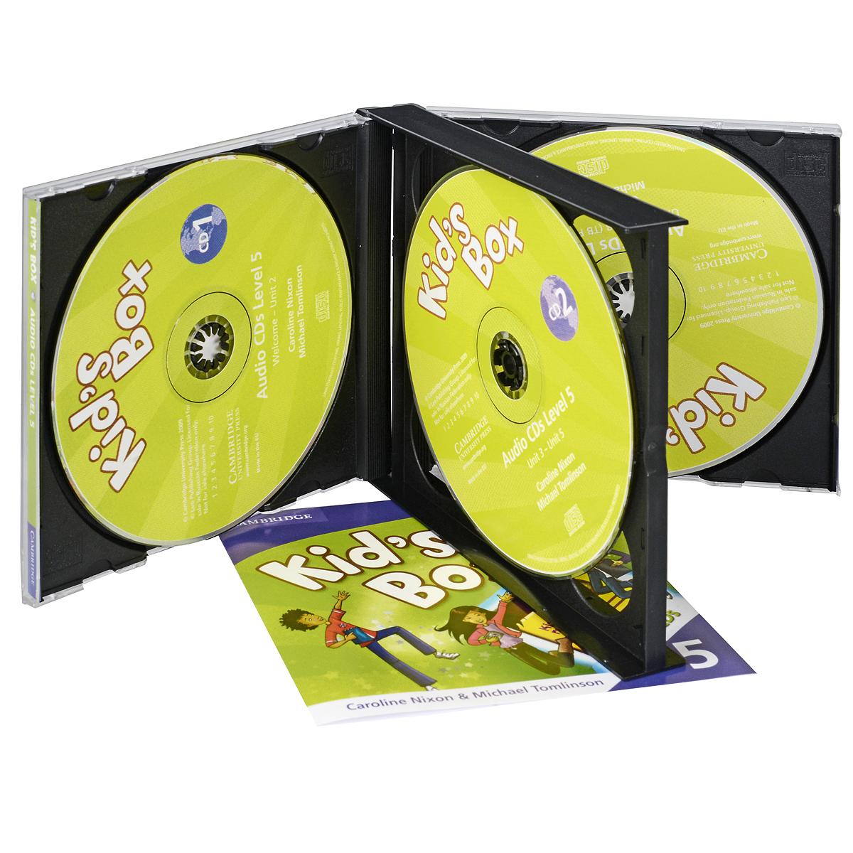Kid's Box 5 (��������� �� 3 CD)