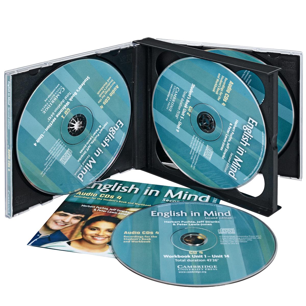 English in Mind: Level 4 (аудиокурс на 4 CD)