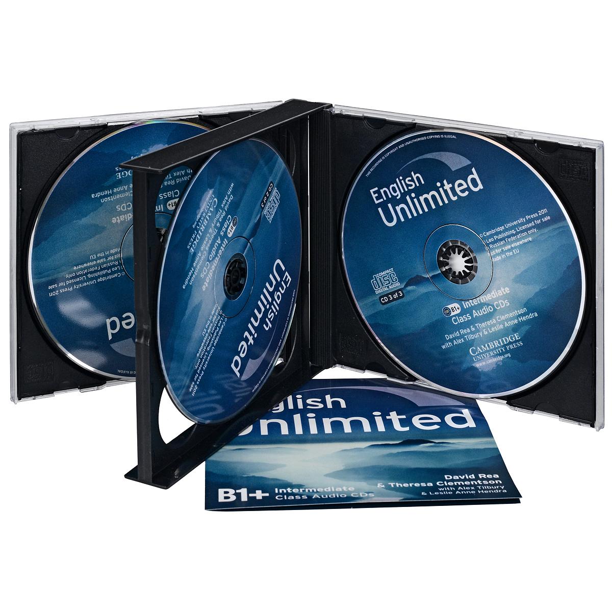 English Unlimited: Intermediate B1+: Class Audio CDs (аудиокурс на 3 CD)