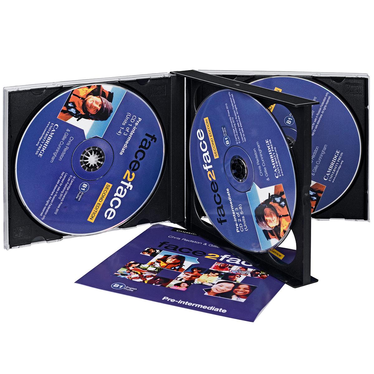 Face2Face: Pre-intermediate (��������� �� 3 CD)
