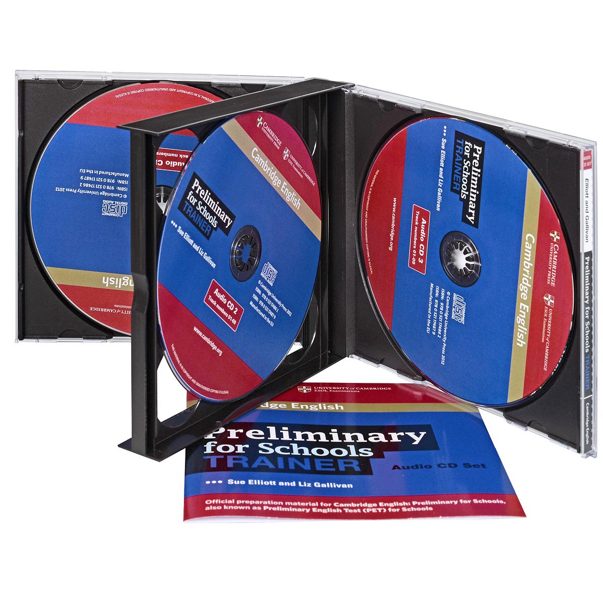 Preliminary for Schools Trainer (аудиокурс на 3 CD)
