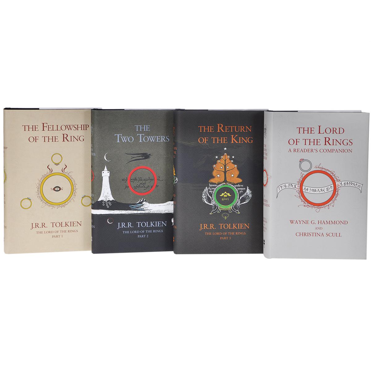 The Lord of the Rings (комплект из 4 книг)