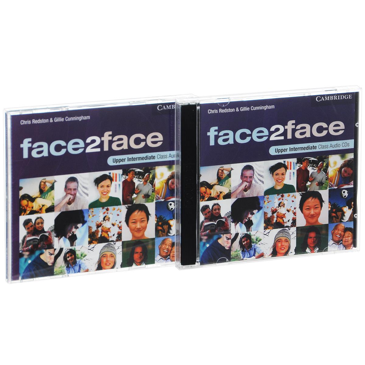 Face2Face: Upper Intermediate: Class Audio CD's (аудиокурс на 3 CD)