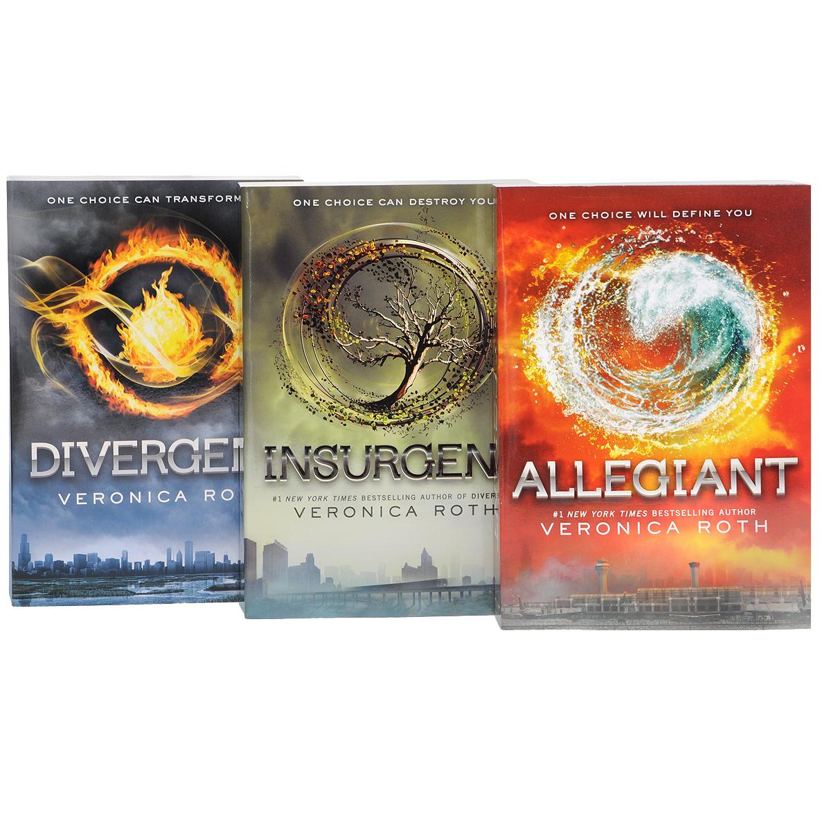 Divergent Series: Complete Box Set (комплект из 4 книг)
