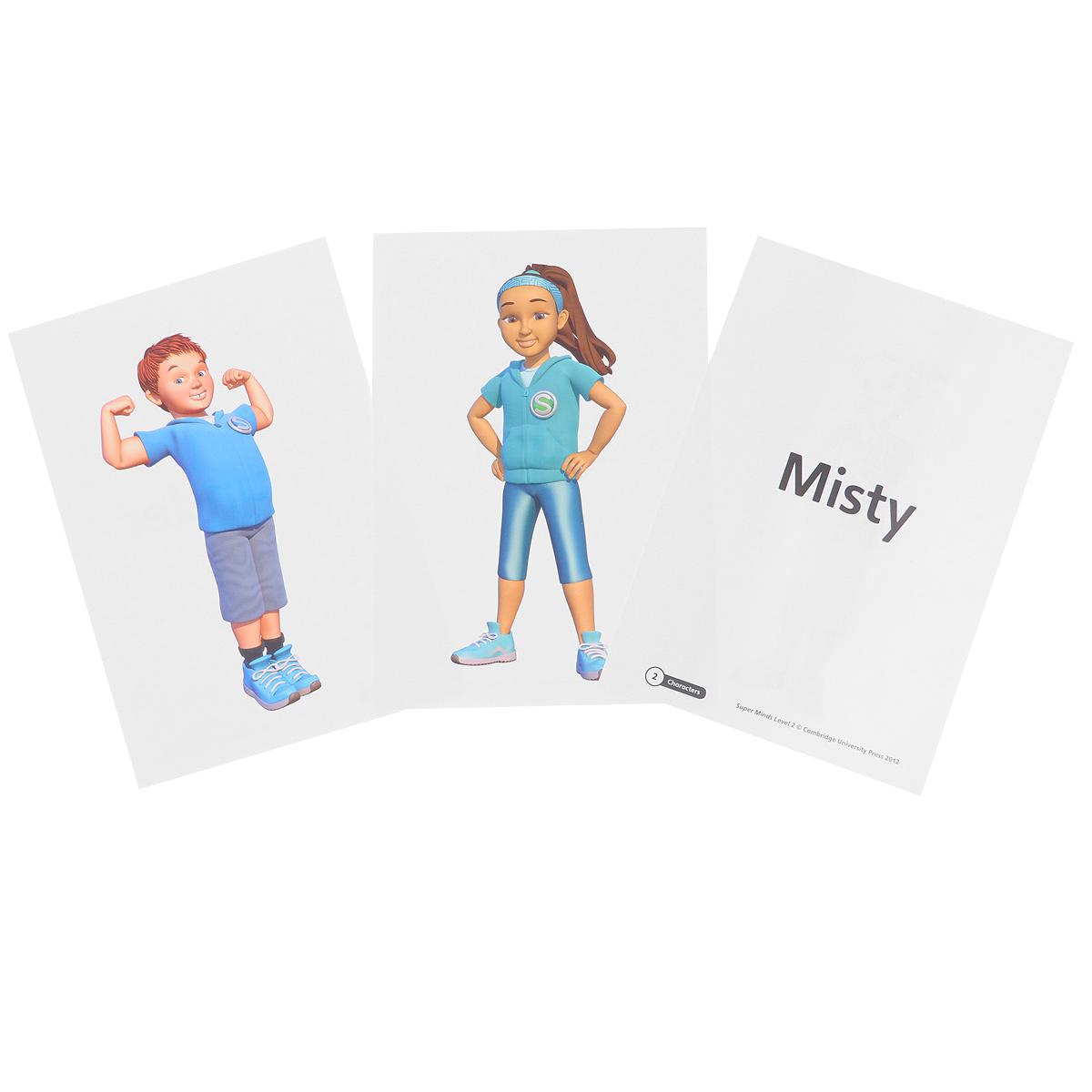Super Minds: Level 2: Flashcards (комплект из 103 крточек)