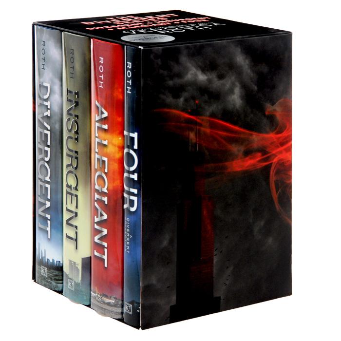 Divergent Box Set (комплект из 4 книг + постер)