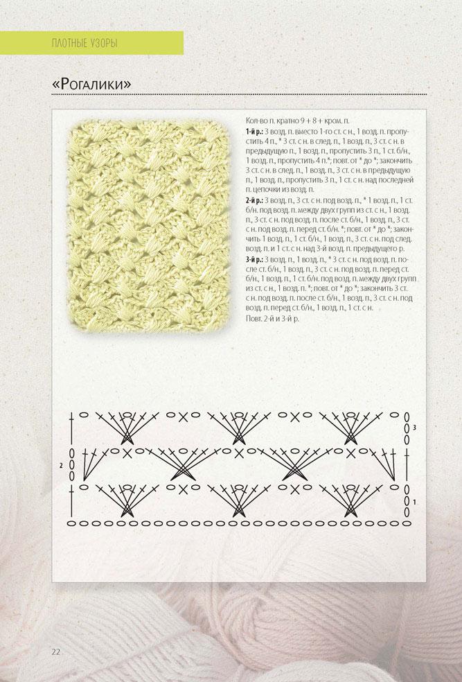 схемы для вязания оригинальных шарфиков
