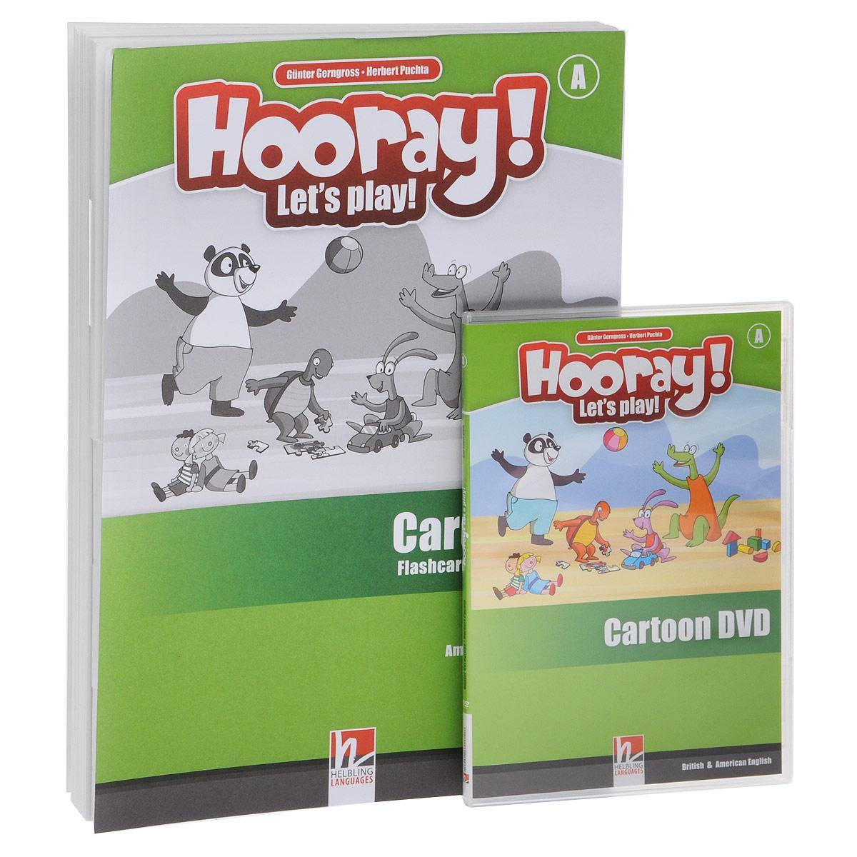 Hooray! Let's Play! A Visual Pack: Level A (набор из 116 карточек + DVD-ROM и игрушка)