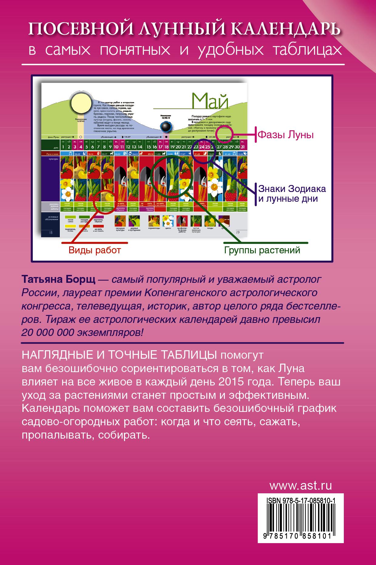 Посевной лунный календарь в самых понятных и удобных таблицах на 2015 год