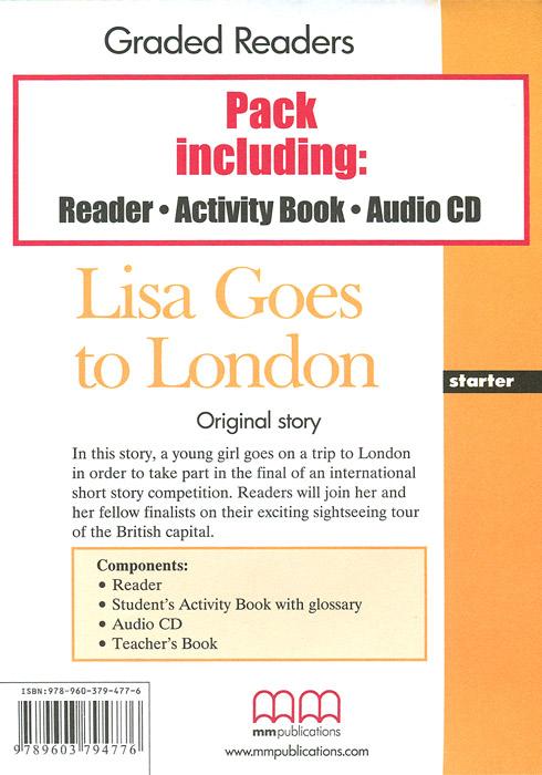 Graded Readers: Starter: Lisa Goes to London (комплект из 2 книг + CD)