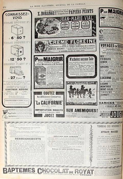 La Mode Illustree. Journal de la famille. ������ �������� � ���������� �� 1905 ���