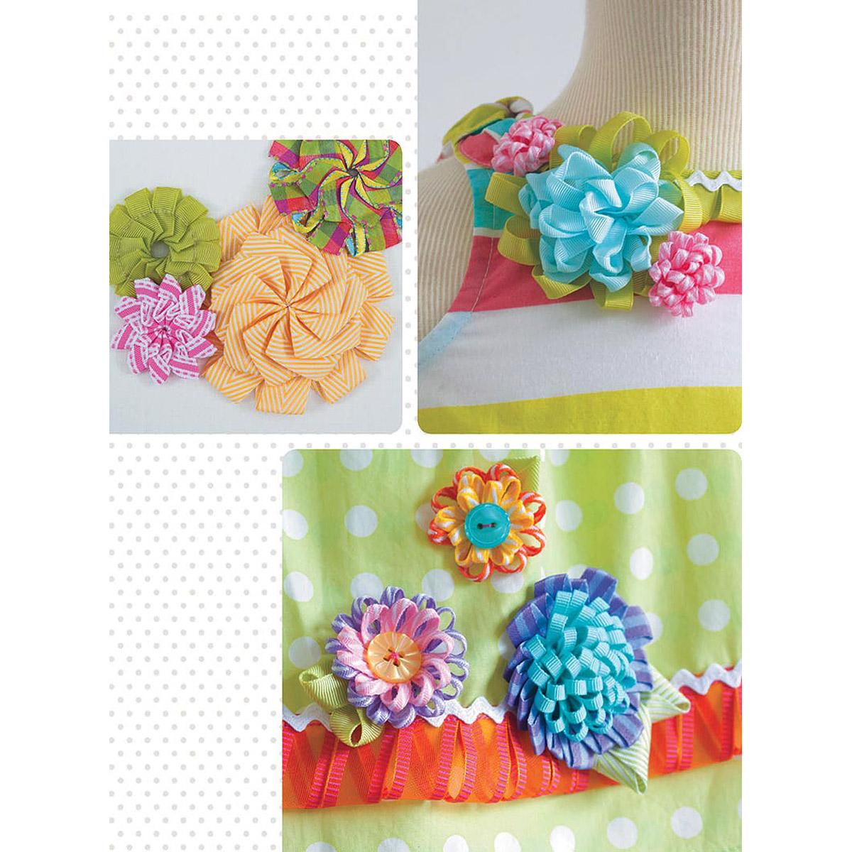 Фото цветы с ткани