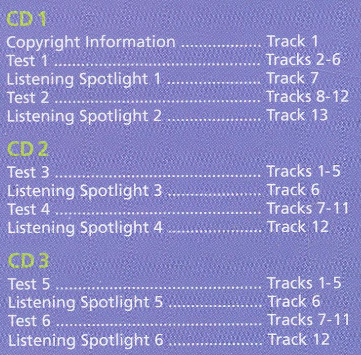 Cambridge Ket Practice Tests (аудиокнига на 3 CD)