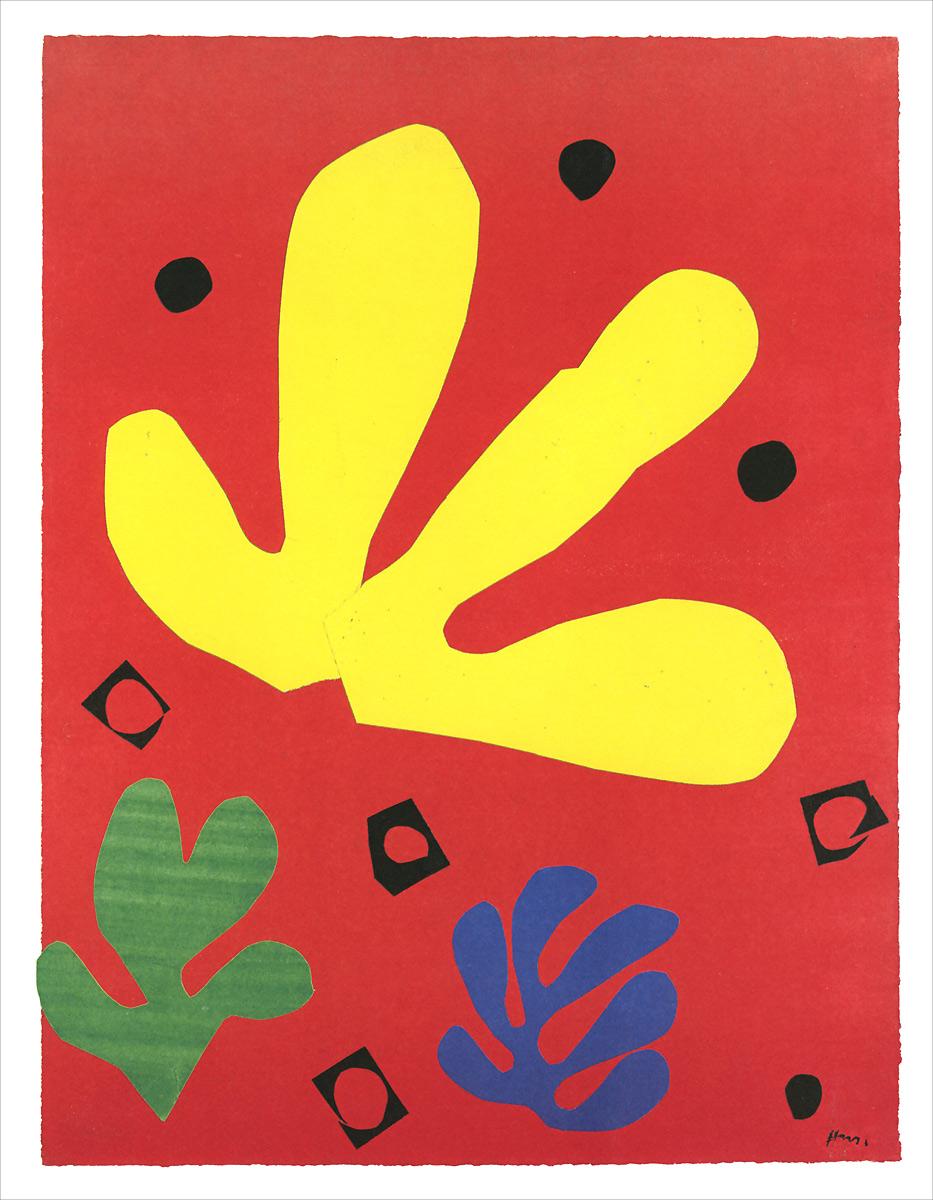 Matisse Print Set: 16 prints packaged in a cardboard box