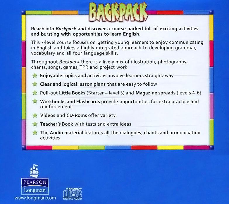 Backpack 1: British English: Audio CDs (аудиокурс CD)