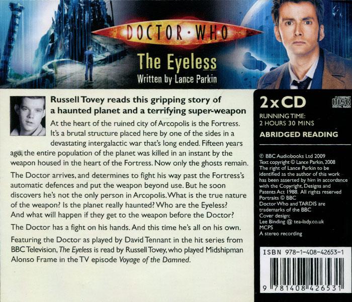 Doctor Who: The Eyeless (аудиокнига на 2 CD)