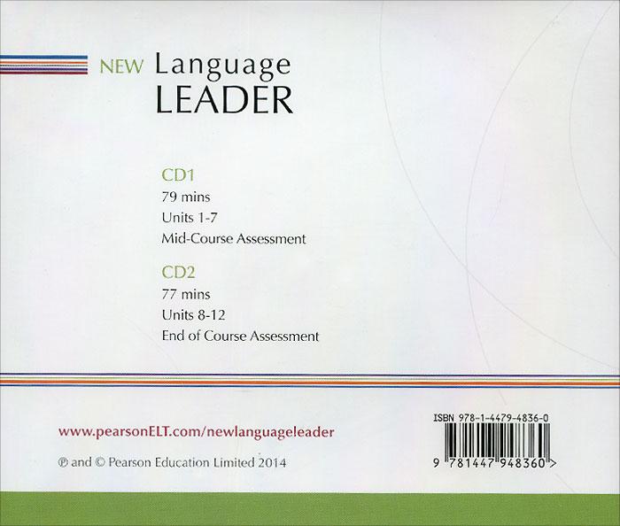 New Language Leader: Pre-Intermediate: Class Audio CDs (аудиокурс на 2 CD)