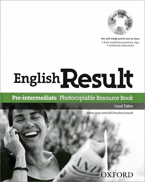 English Result (комплект из 2 книг + 2 DVD)
