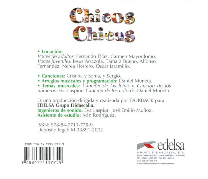 Chicos Chicas: Libro del alumno: Nivel 1 (��������� CD)