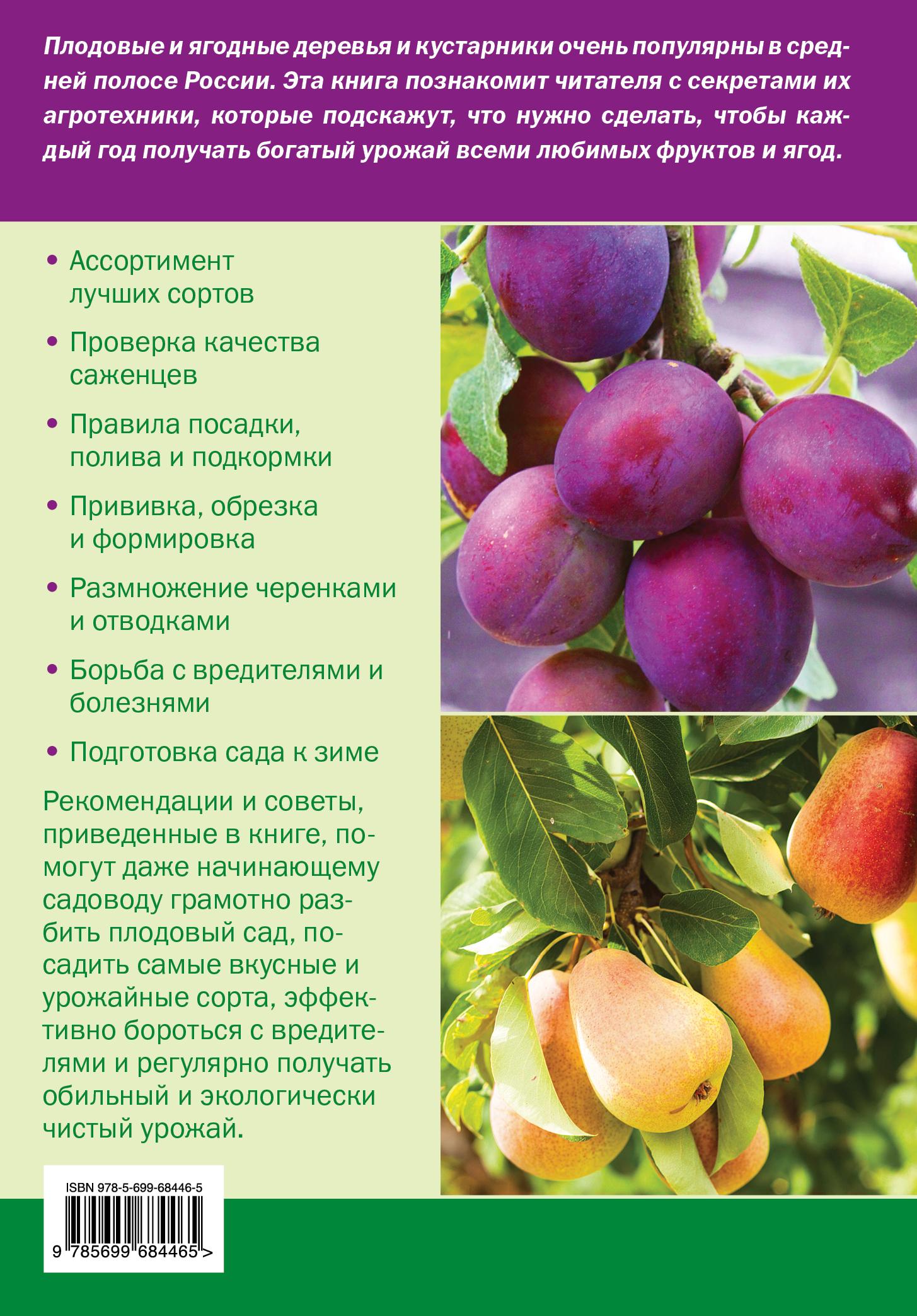 Плодовые и ягодные культуры