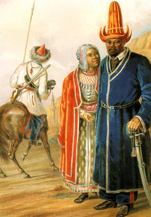 Народы Российской империи. Выпуск 1 (набор из 15 открыток)