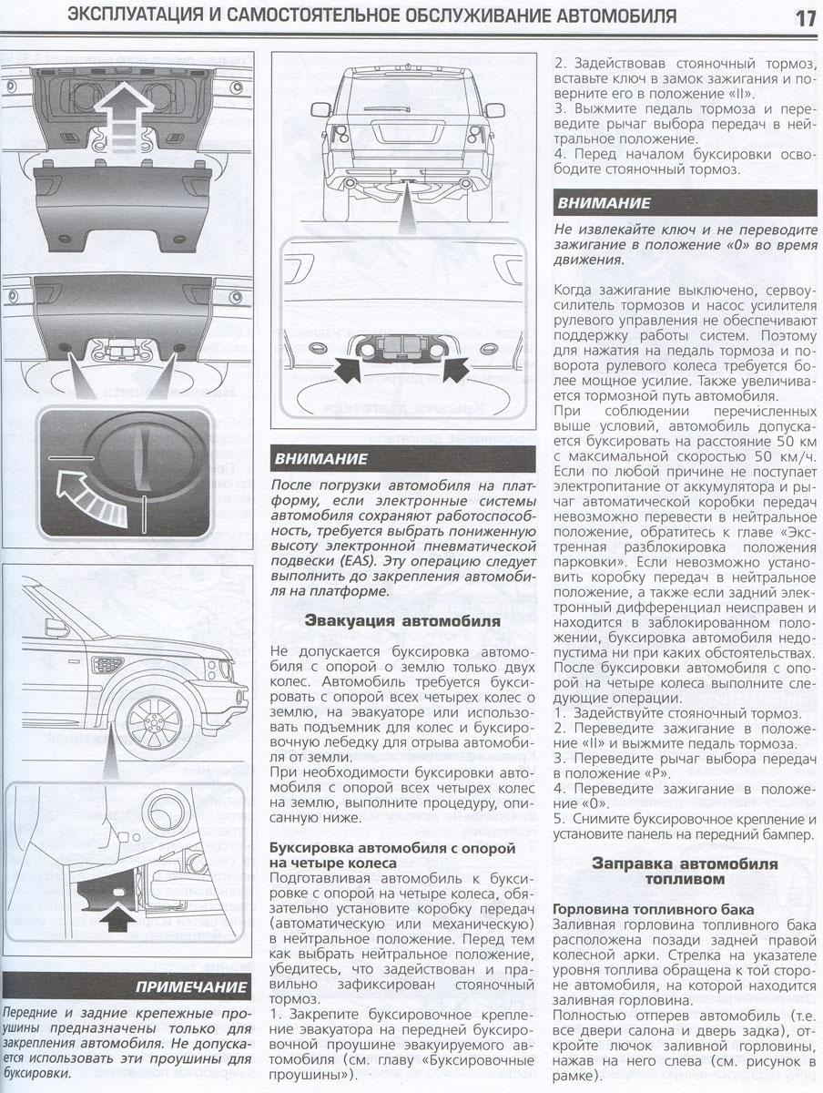 ���������� Range Rover Sport. ����������� �� ������������, ������������ ������������ � �������
