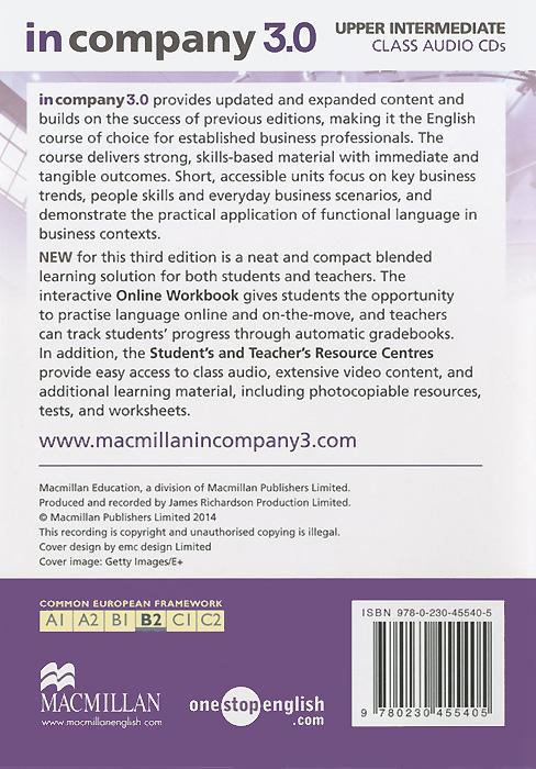 In Company 3.0: Upper Intermediate: Level B1 (аудиокурс на 2 CD)