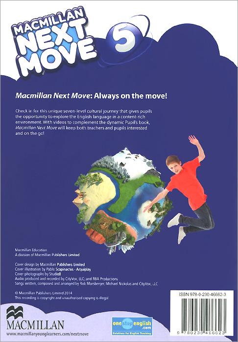 Macmillan Next Move: Level 5 (��������� �� 2 CD)