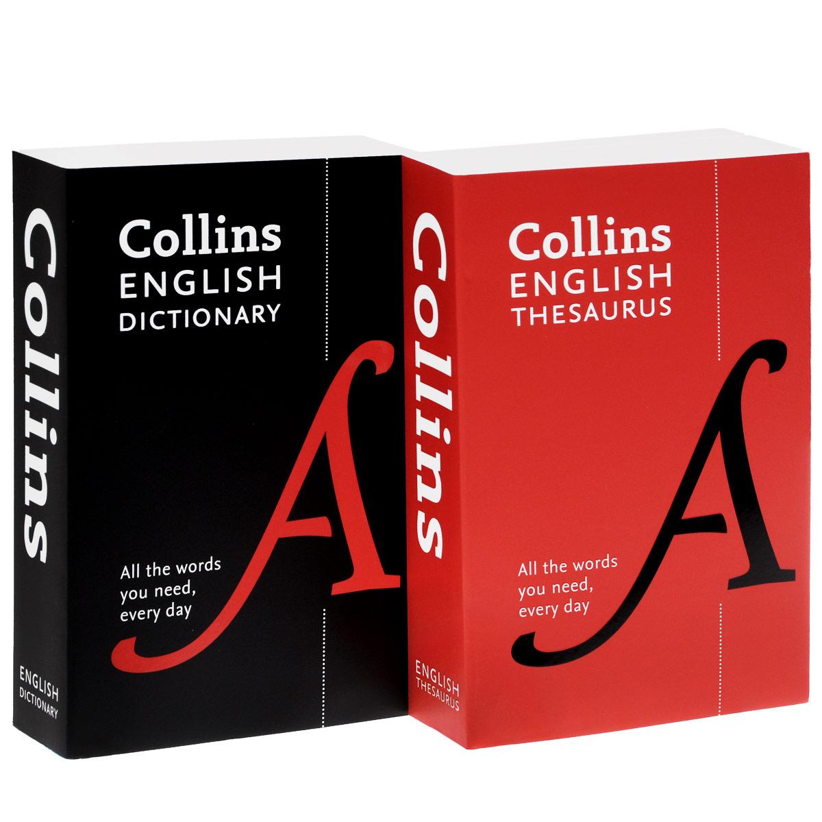 Collins English Dictionary and Thesaurus (комплект из 2 книг)