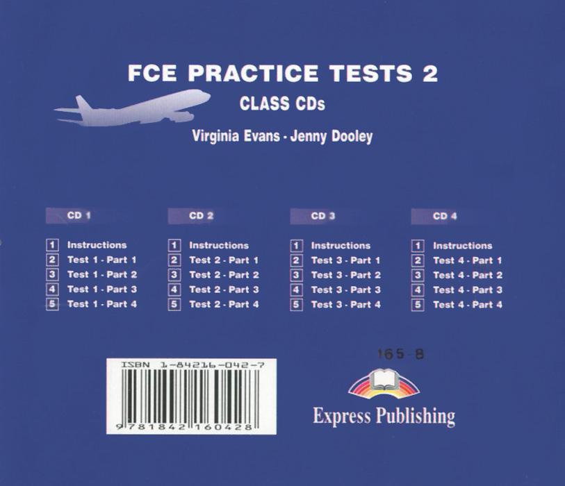 FCE Practice Tests 2: Class Audio CDs (аудиокурс на 4 CD)