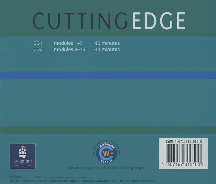 New Cutting Edge: Pre-Intermediate: Student's CDs (аудиокурс на 2 CD)