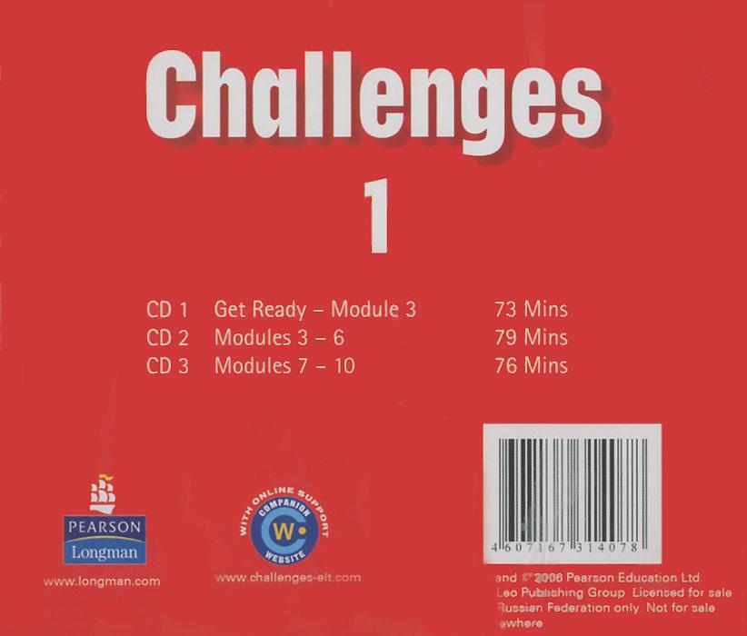 Challenges 1: Class CD (аудиокурс на 3 CD)