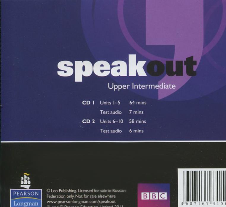 Speakout: Upper Intermediate: Class Audio CDs (аудиокурс на 2 CD)