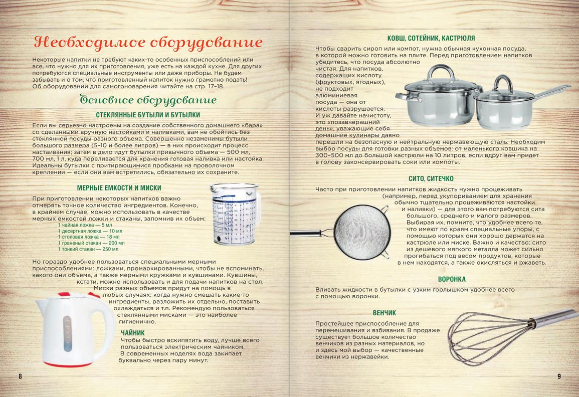 Домашний самогон, настойки, наливки и другие любимые напитки