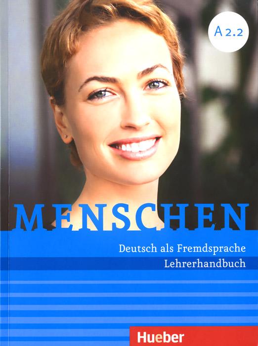 Menschen: Deutsch als Fremdsprache: Lehrerhandbuch (комплект из 2 книг)