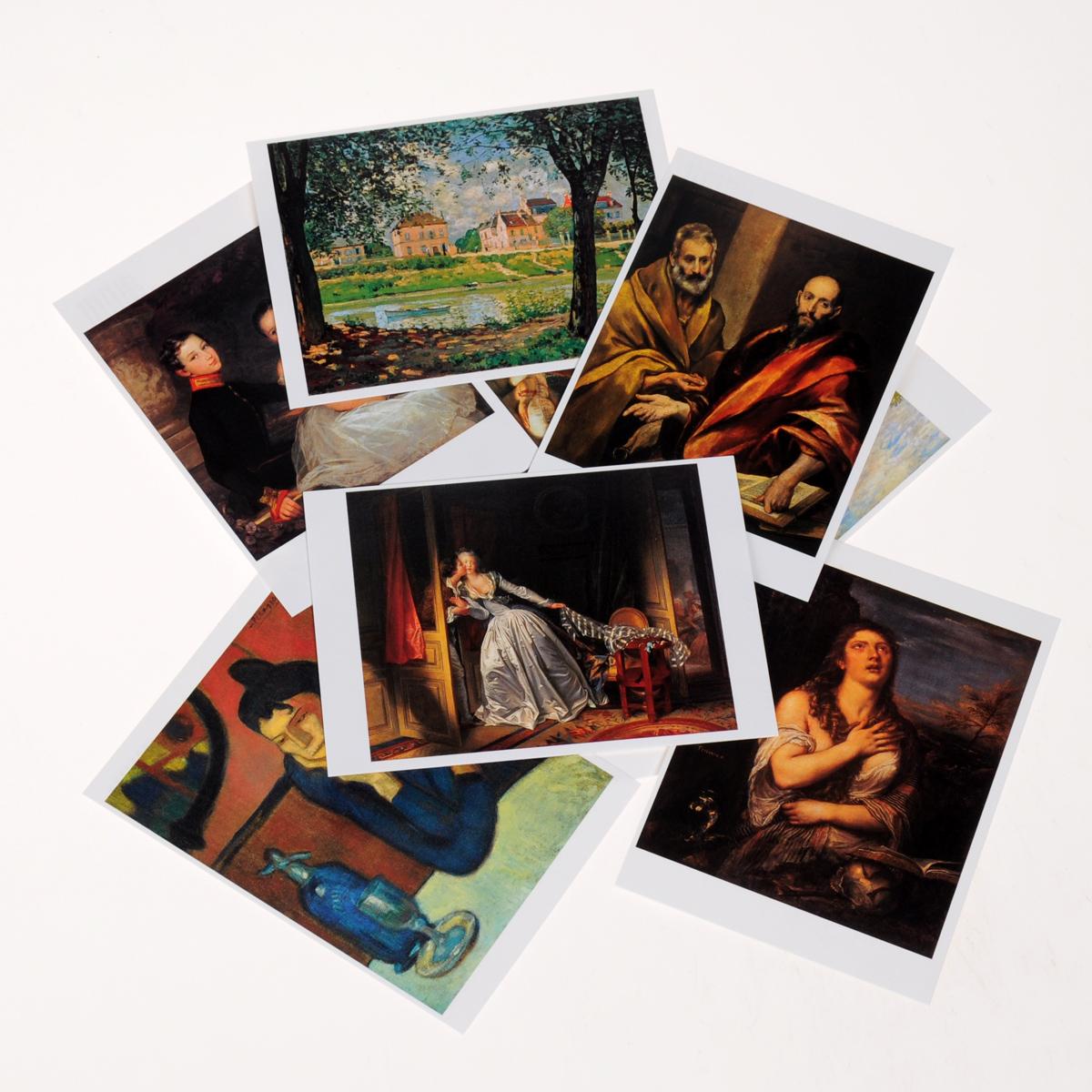 Эрмитаж. Шедевры живописи (комплект из 32 открыток)