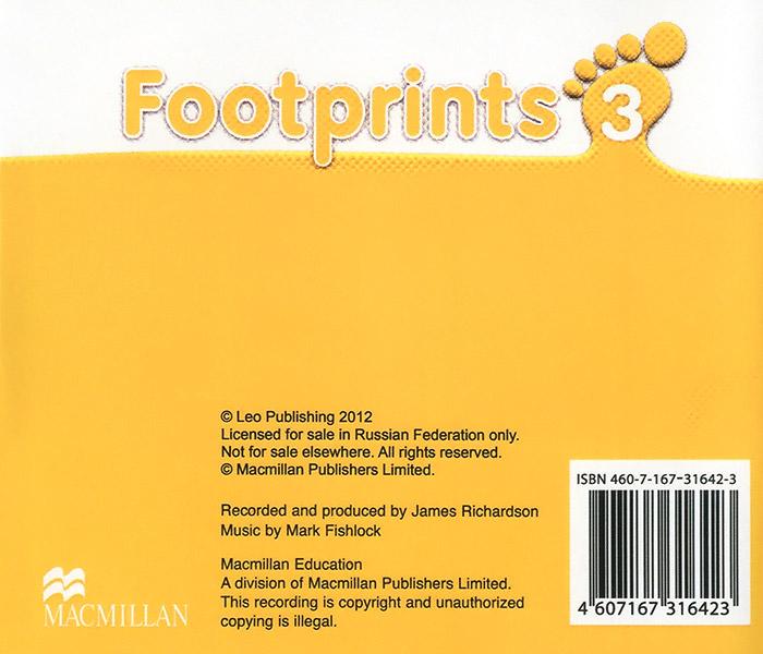 Footprints 3 (аудиокурс на 3 CD)