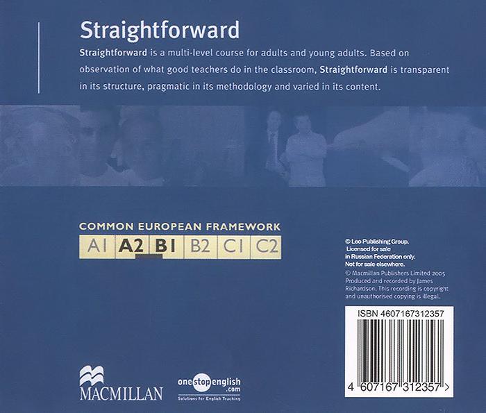 Straightforward: Pre-Intermediate Class CD (2 CD)