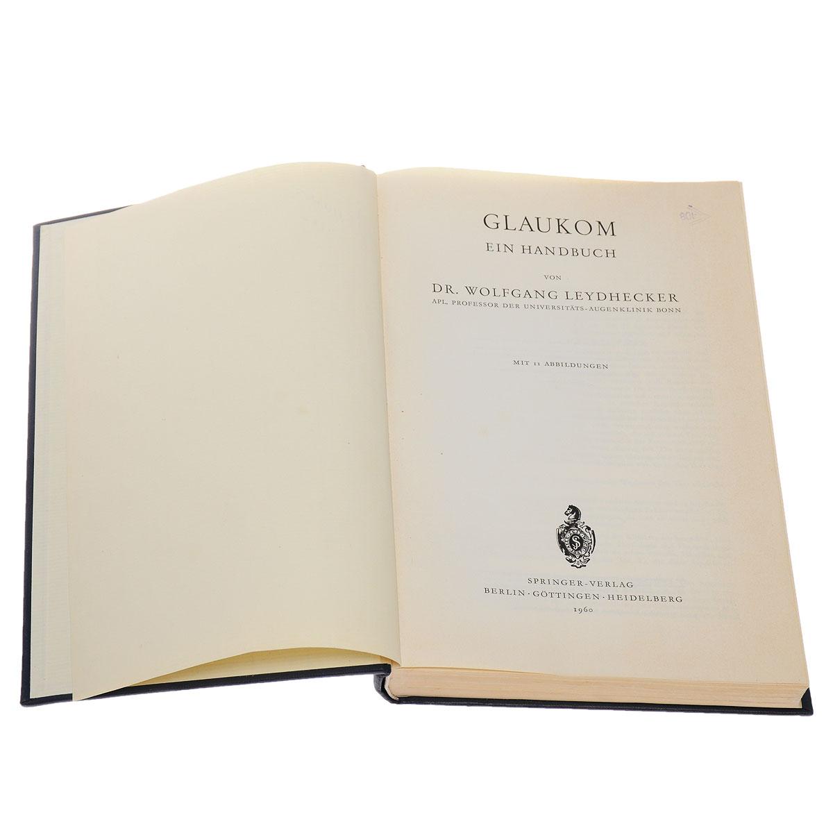 Glaukom ein Handbuch