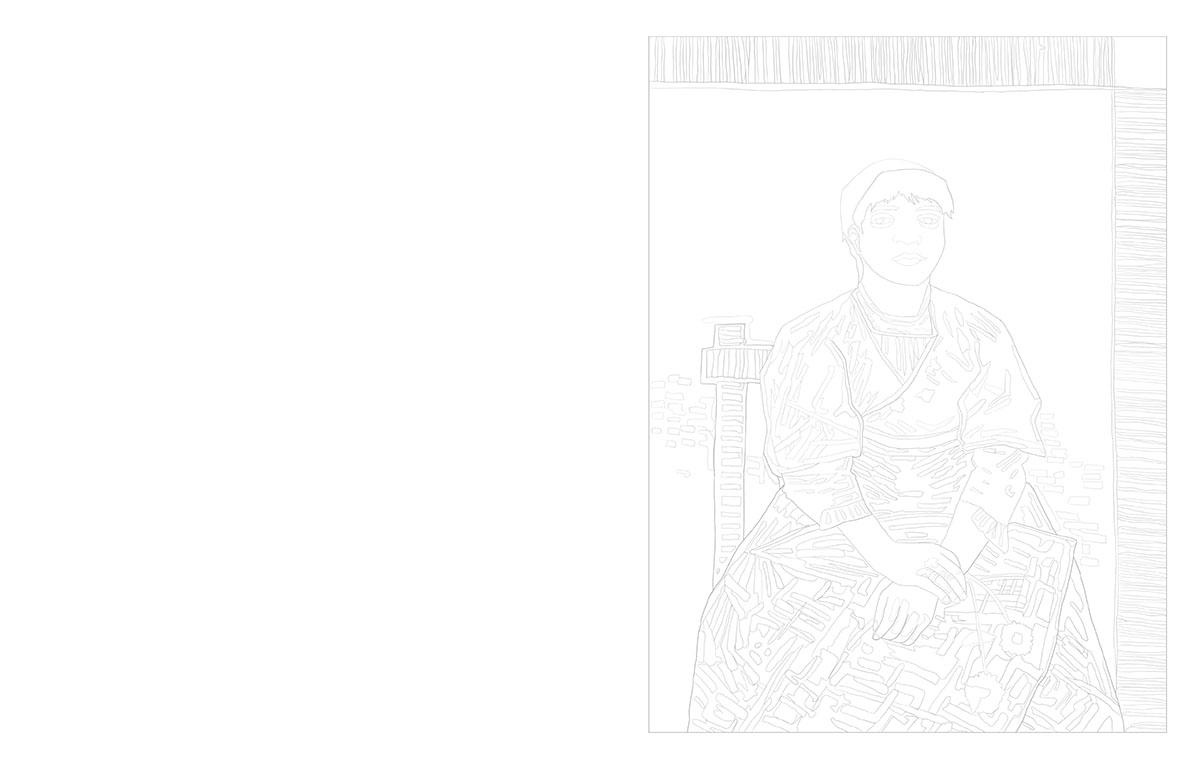 Ван Гог. Альбом для раскрашивания