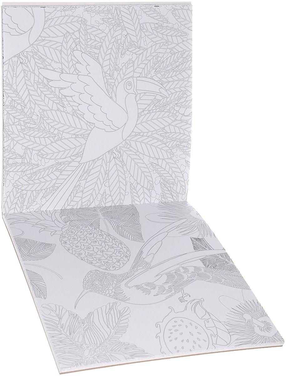 Арт-терапия. Джунгли Амазонки. 70 рисунков для раскрашивания и снятия стресса