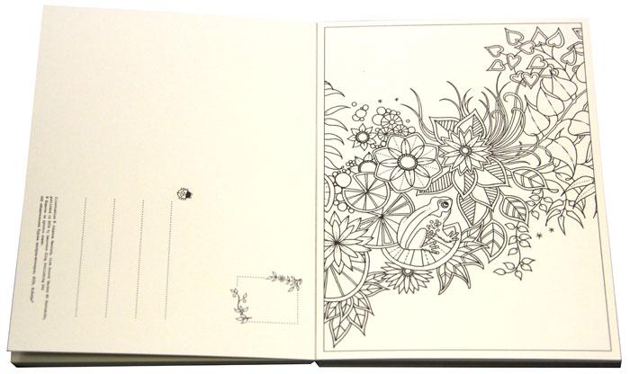 Таинственный сад. Набор из 20 художественных открыток