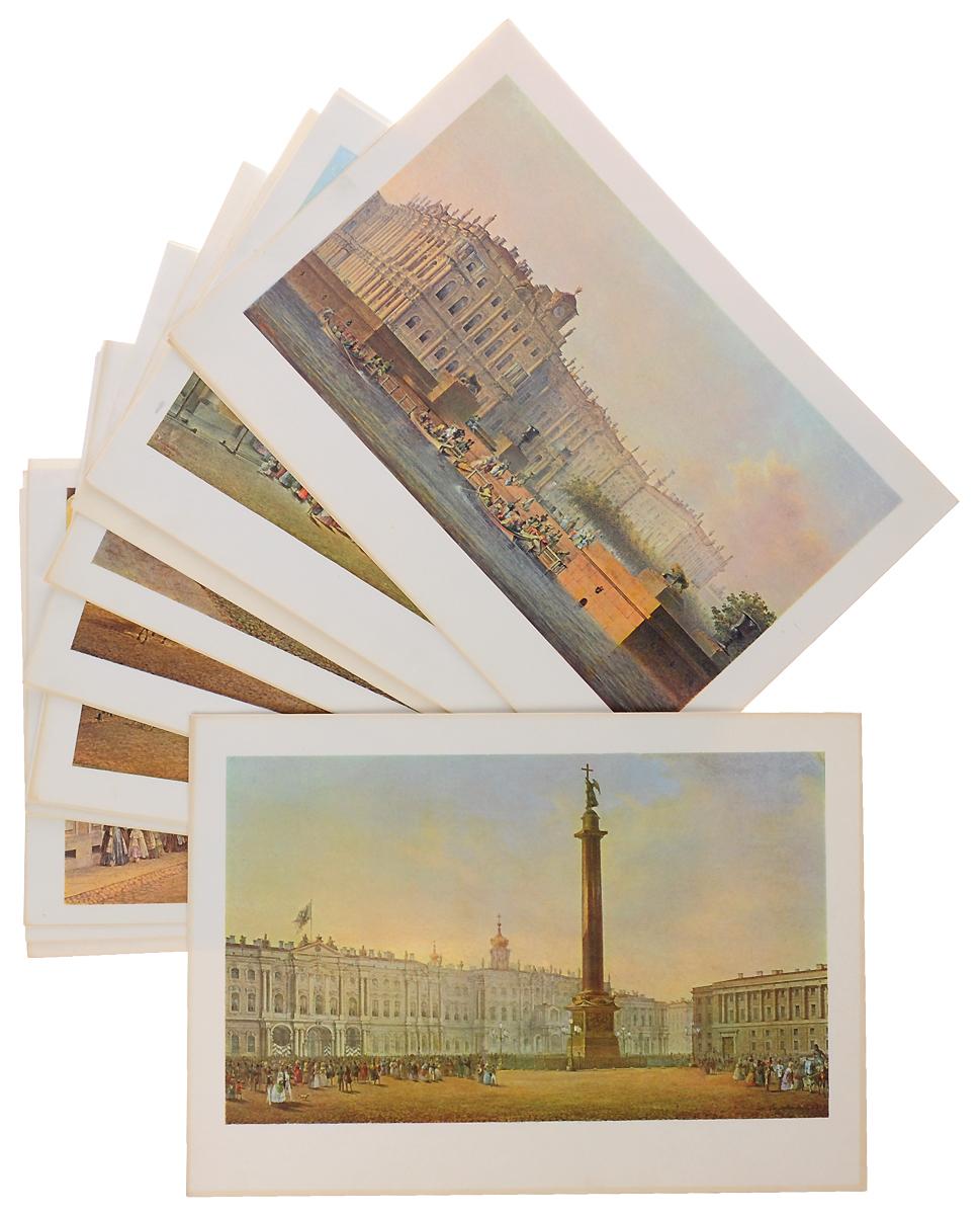 Views of St. Petersburg in Water-colours by V. Sadovnikov / Виды Петербурга. Акварели В. Садовникова (набор из 24 репродукций)