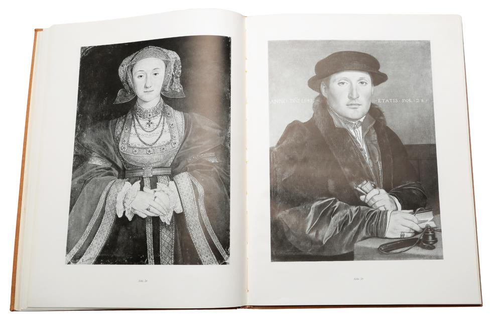 Hans Holbein Dj. als Maler