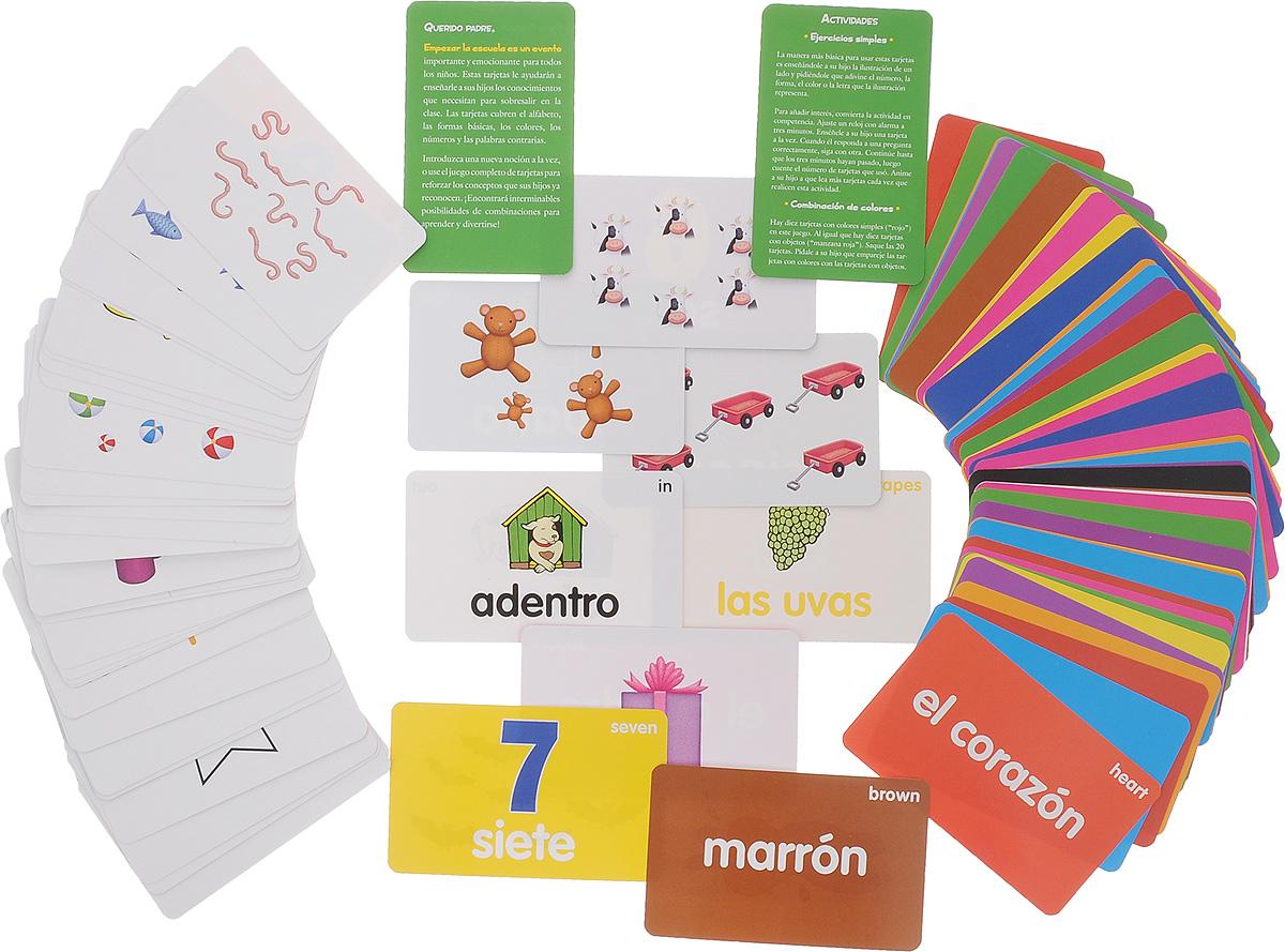 Listo para la Escuela - Spanish Flashcards (86 cards)