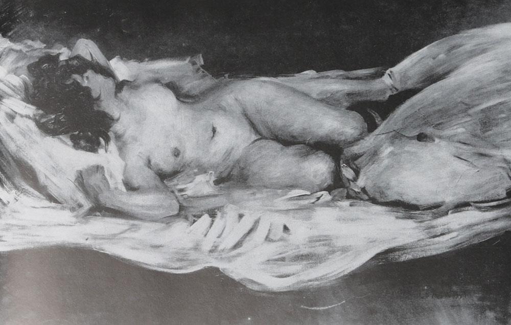 Der Deutsche Impressionismus. Die Hauptmeister in der Malerei